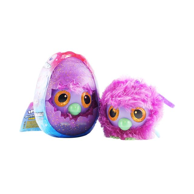 Hatchimals Glittering Garden Pom Pom Plush Clip-On