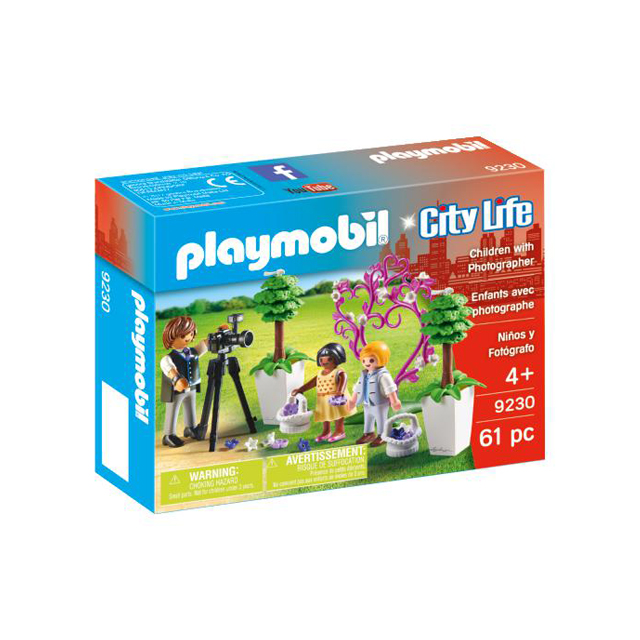 Playmobil City Life Flower Children and Photographer