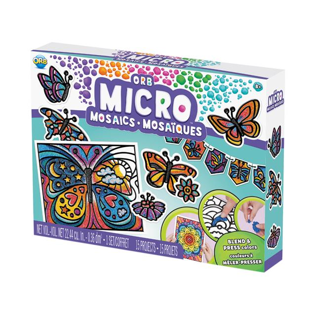 ORB Micro Mosaics™ All-in-One Kit Butterflies