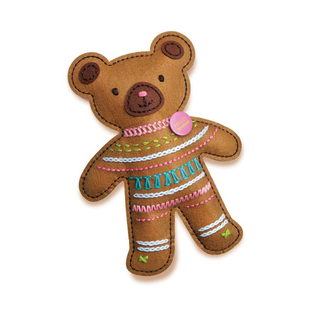 4M KidzMaker Embroidery Teddy Bear