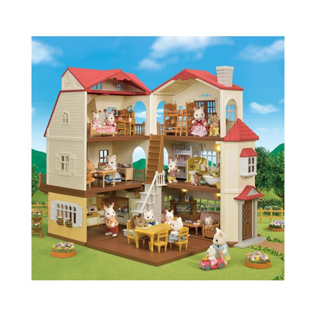 8c1d69b667a8 Calico Critters Red Roof Country Home