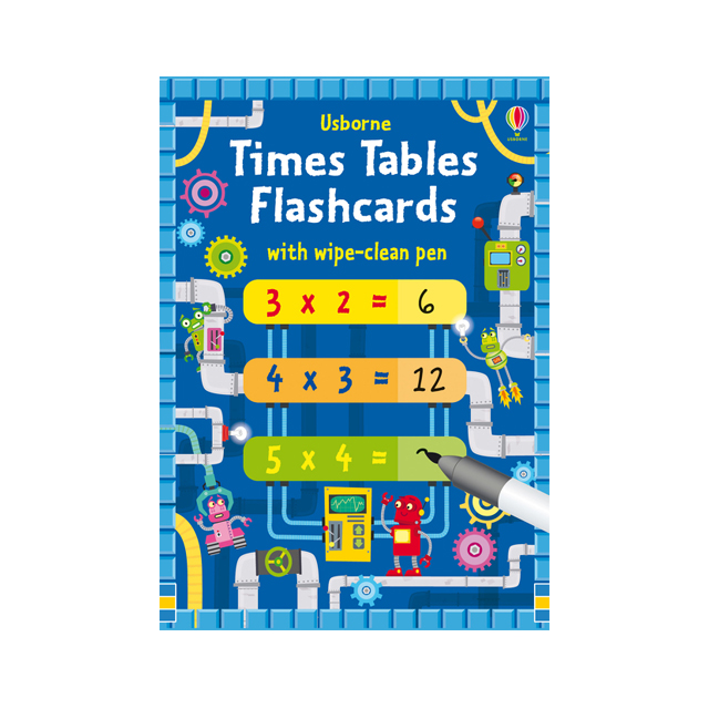 Usborne Times Tables Flashcards
