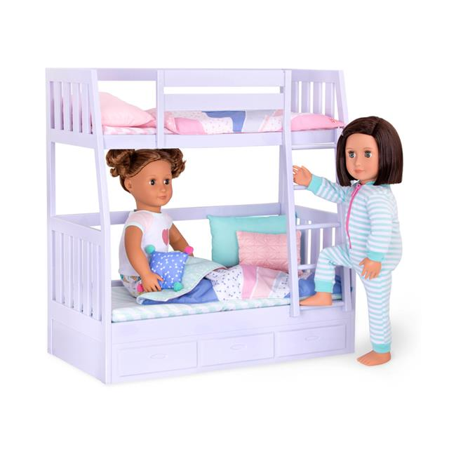 Our Generation Dream Bunks Bunk Bed Lilac