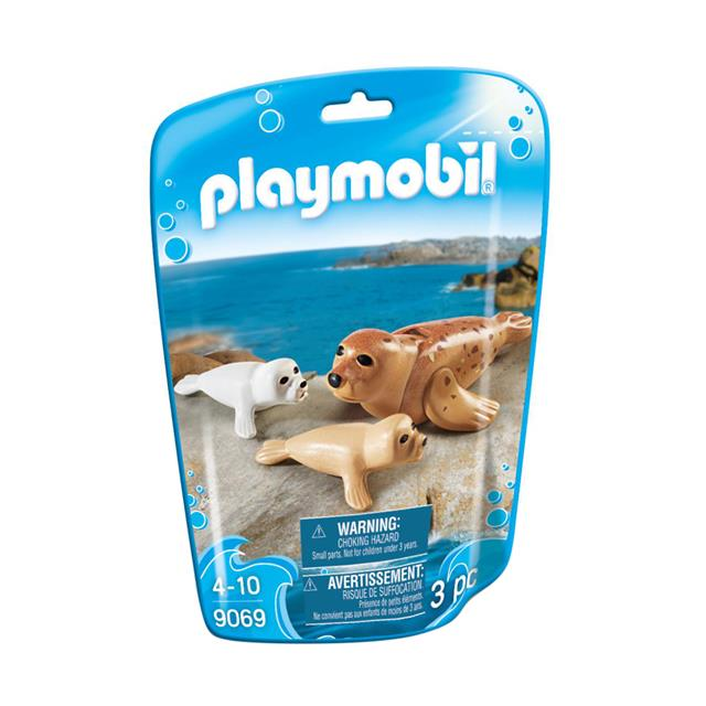 Playmobil Family Fun Seal with Pups