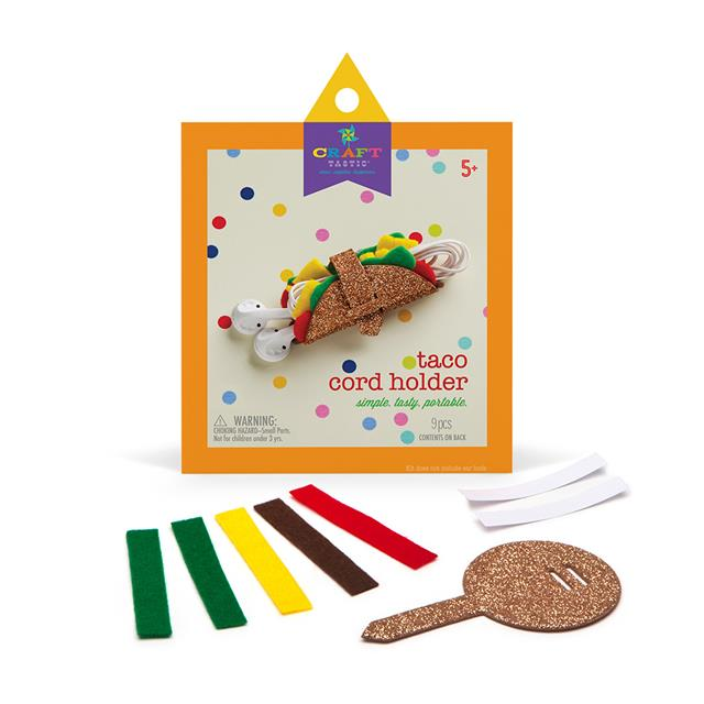 Craft-tastic Taco Cord Holder Kit