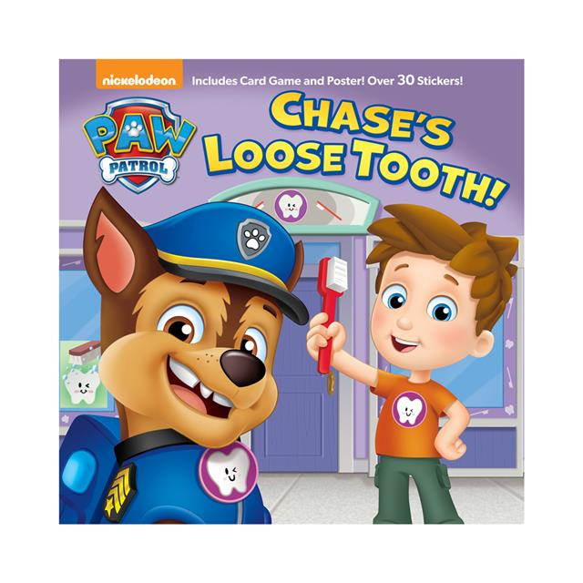 Paw Patrol Chase S Loose Tooth