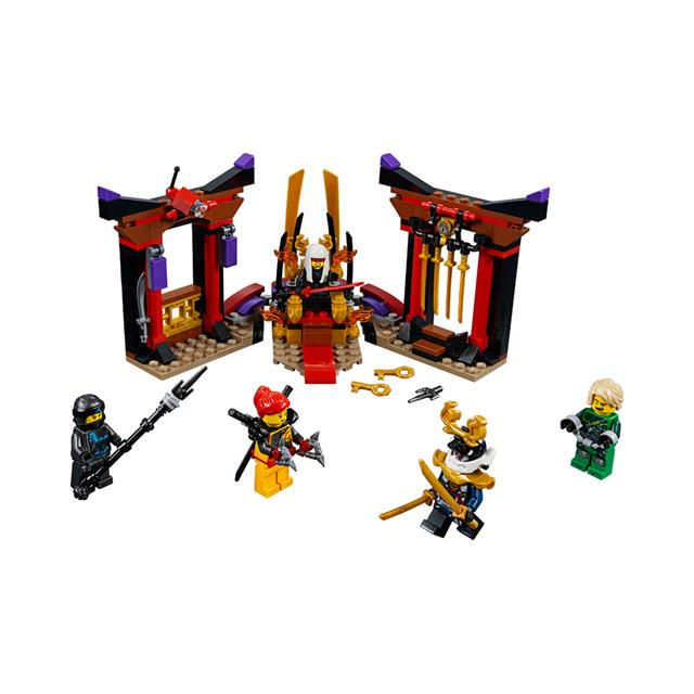 LEGO® NINJAGO® Throne Room Showdown