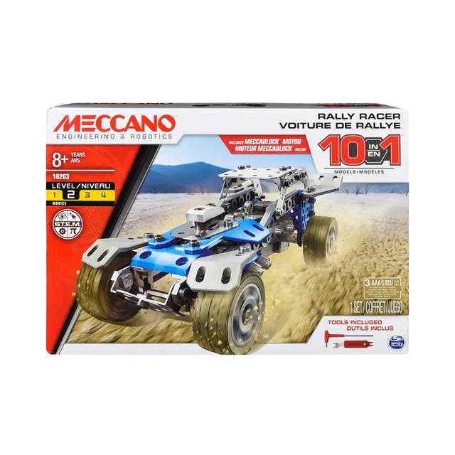 Meccano Rally Racer 10 in 1 Set