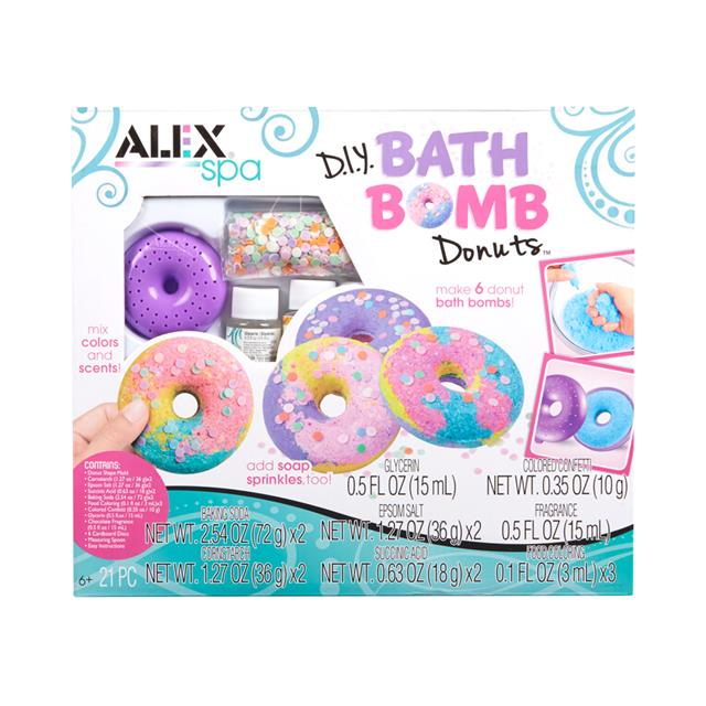 ALEX Spa D.I.Y. Bath Bomb Donuts