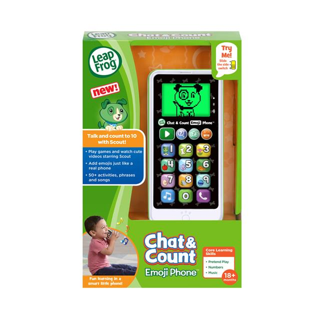 LeapFrog® Chat & Count Emoji Phone™