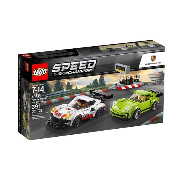 LEGO® Speed Champions Porsche 911 RSR and 911 Turbo 3.0