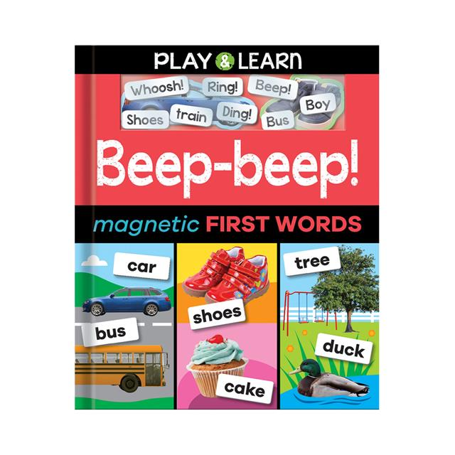 Play & Learn Beep-beep! Magnetic First Words