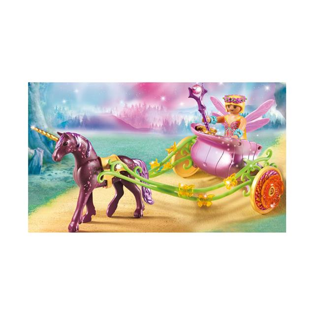 playmobil fairies unicorndrawn fairy carriage