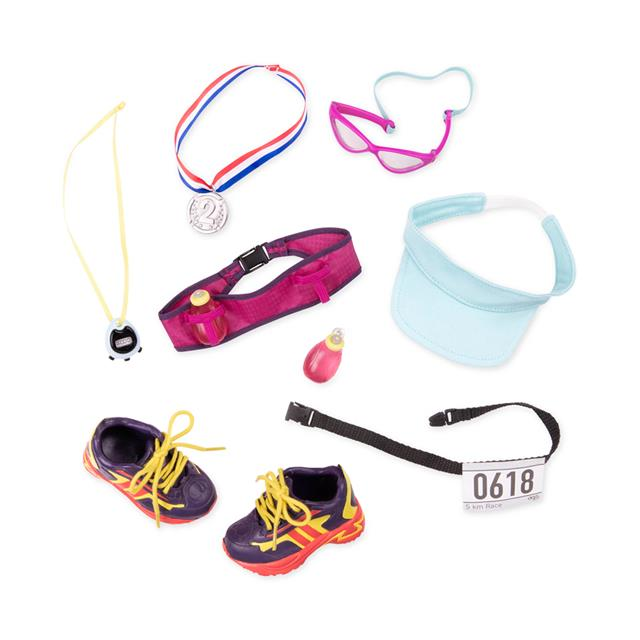 Our Generation Running Accessory Set