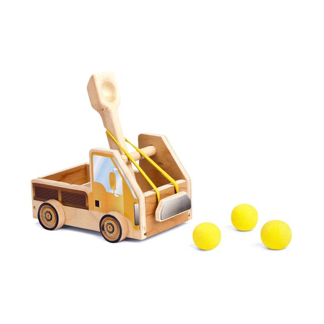 STANLEY® Jr. Truck Catapult Wood Building Kit