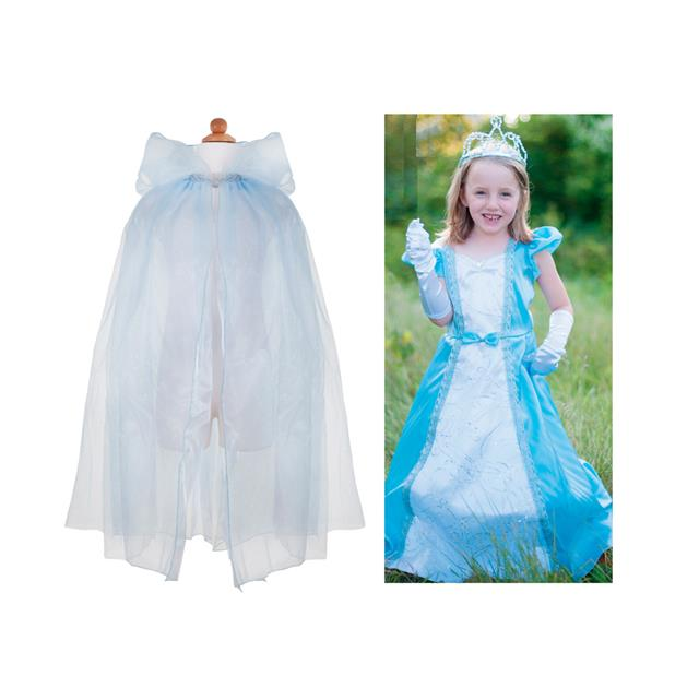 Great Pretenders Blue Princess Dress with Cape and Tiara