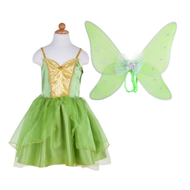 Great Pretenders Green Fairy Dress with Wings