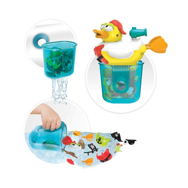 Yookidoo Pirate Duck Jet Bath Toy
