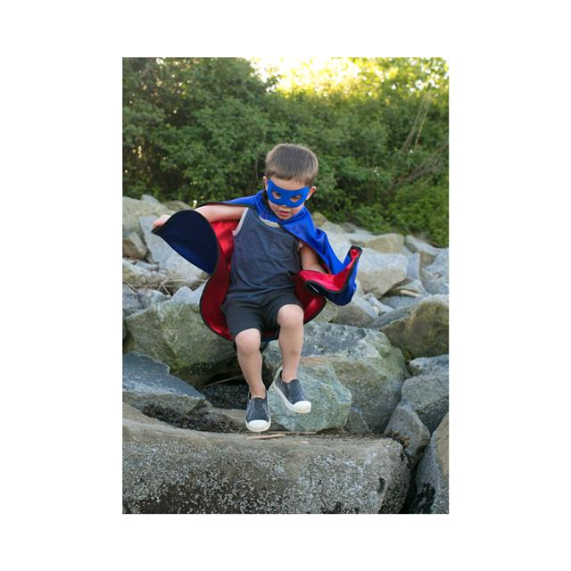 Great Pretenders Reversible Adventure Cape with Mask
