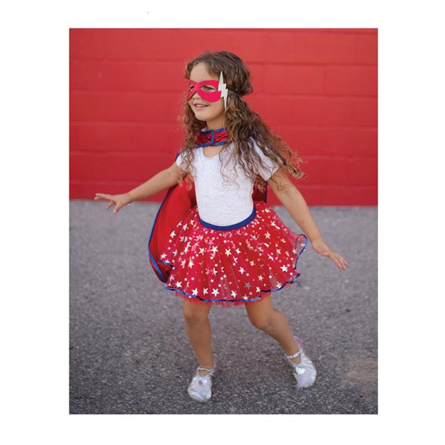Great Pretenders Superhero Tutu, Cape & Mask Set