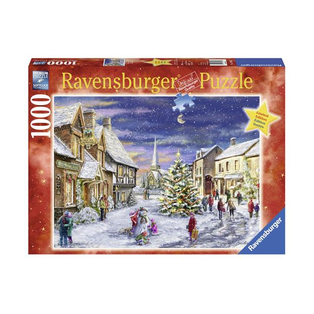 Ravensburger Christmas Village 1000pc Puzzle