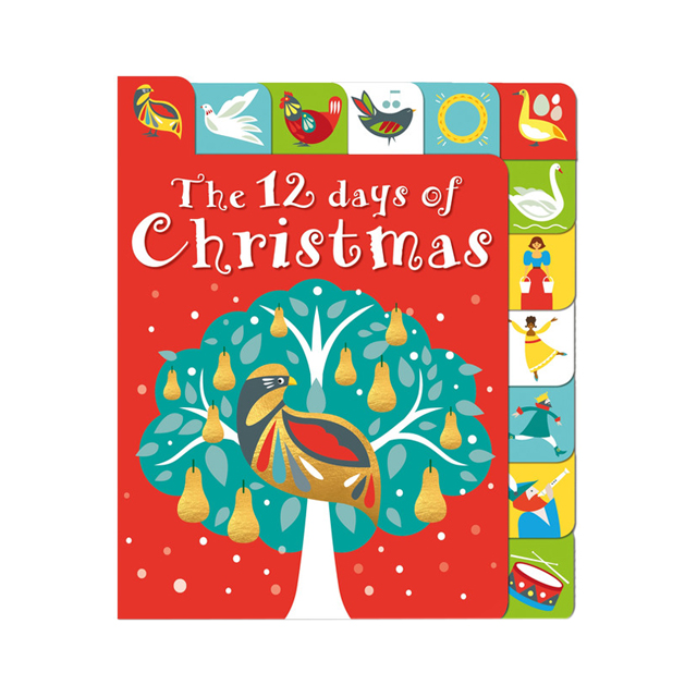 the 12 days of christmas lift the tab board book - 12 Days Of Christmas Book