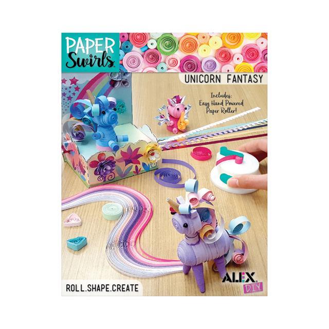 ALEX Paper Swirls 3D Unicorn Fantasy