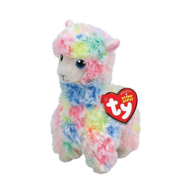efe40d0656f Ty Beanie Babies Medium Lola the Rainbow Llama