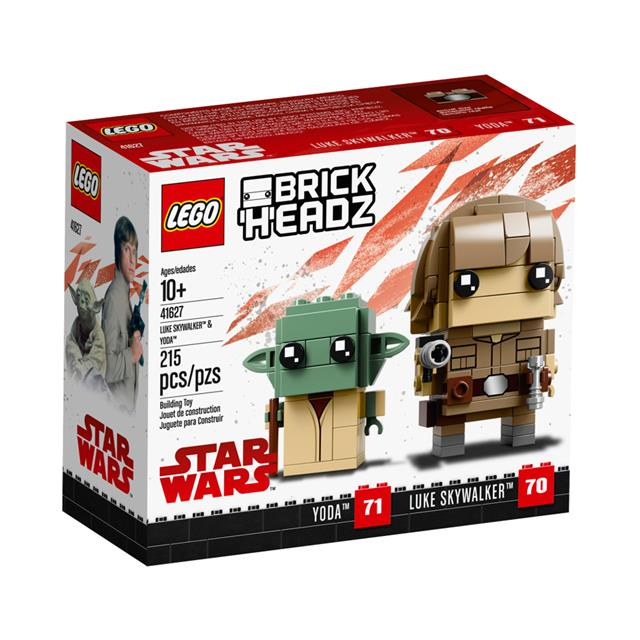LEGO® BrickHeadz™ Luke Skywalker™ & Yoda™