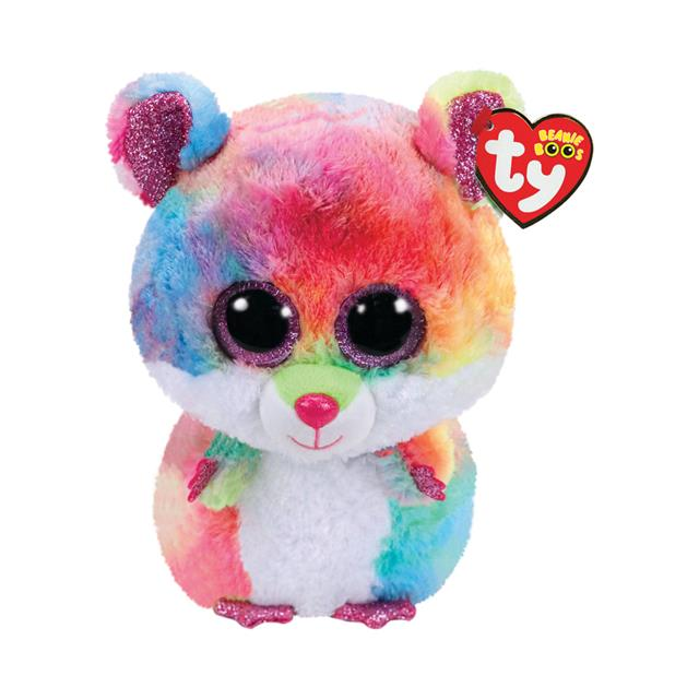 Ty Beanie Boos Medium Rodney the Hamster