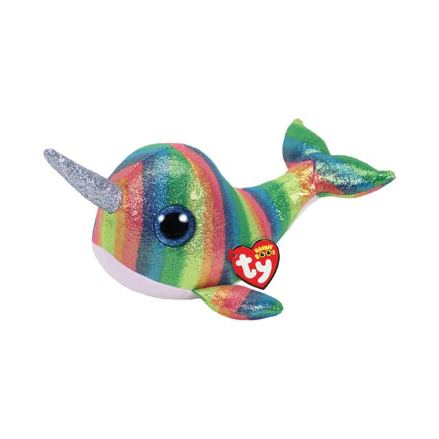 Ty Beanie Boos Medium Nori the Narwhal