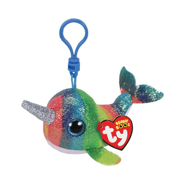 Ty Beanie Boos Clip-On Nori the Narwhal