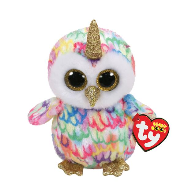 Ty Beanie Boos Enchanted the Owlicorn