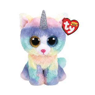 5b8aab76f5b Ty Beanie Boos Heather the Caticorn