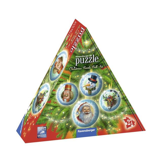 Ravensburger Christmas Ornaments in Box 3D Puzzles