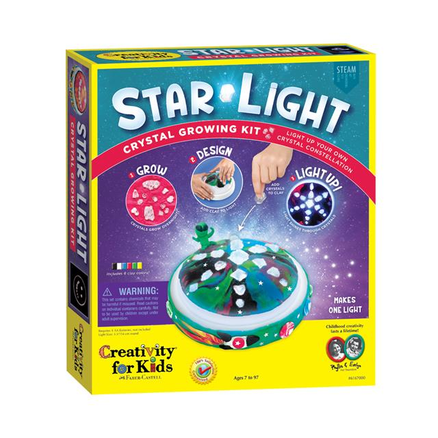 Creativity for Kids Star Light Crystal Growing Kit