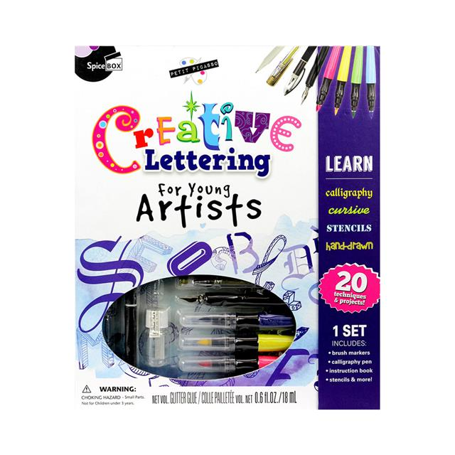 SpiceBox Petite Picasso Creative Lettering for Young Artists