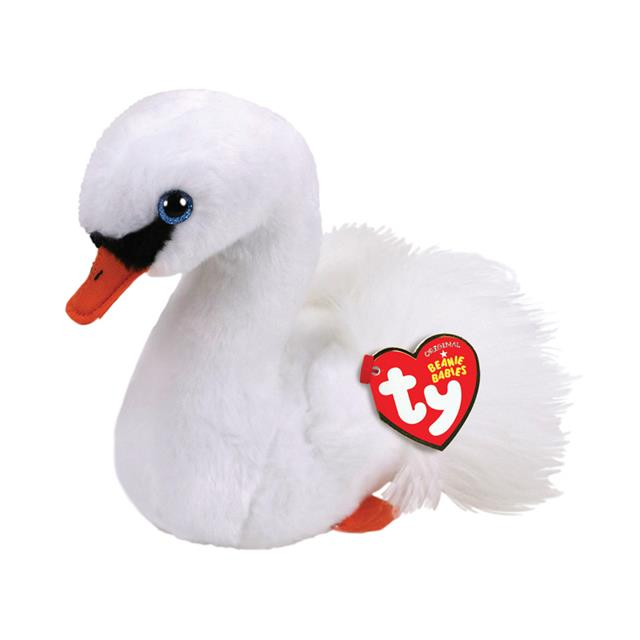 Ty Beanie Babies Gracie the White Swan