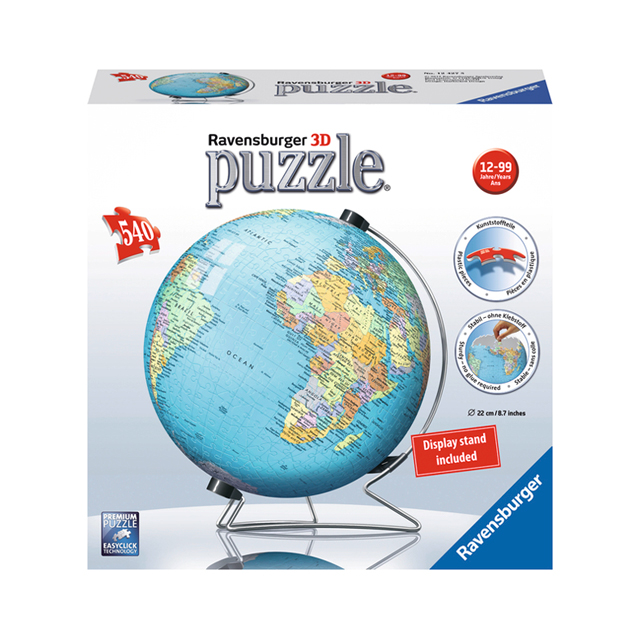Ravensburger The Earth 540pc 3D Puzzle