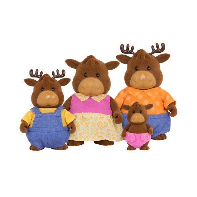 Woodzeez Vanderhoof Moose Family
