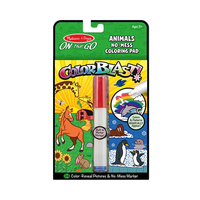 Melissa & Doug On the Go Colorblast! Animals