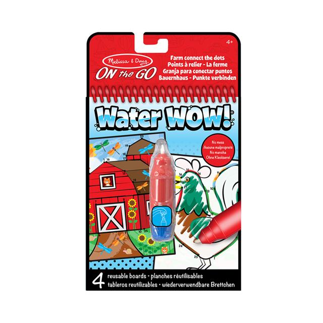 Melissa & Doug On the Go Water Wow! Connect the Dots
