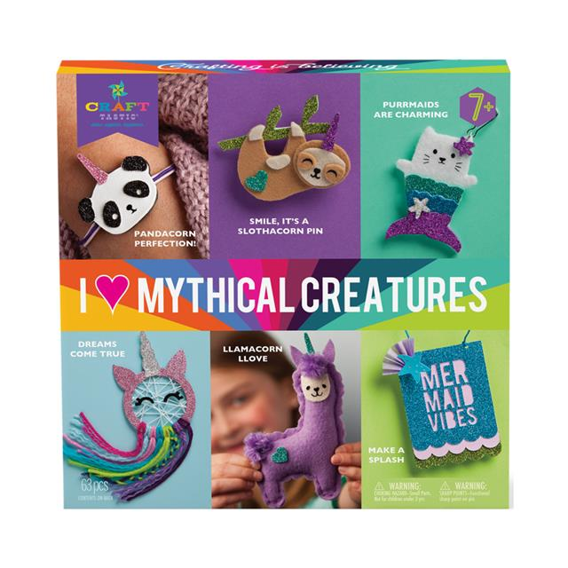 Craft-tastic I Heart Mythical Creatures Kit