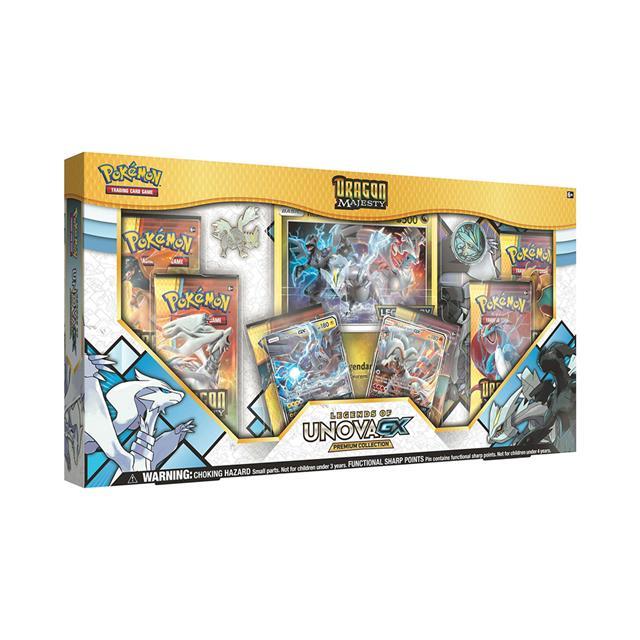 Pokemon Tcg Dragon Majesty Legends Of Unova Gx Premium