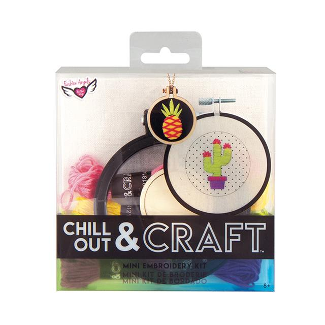 Fashion Angels Chill Out & Craft Mini Embroidery Kit