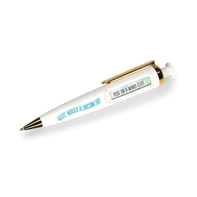 What Would a Unicorn Do? Decision Maker Pen