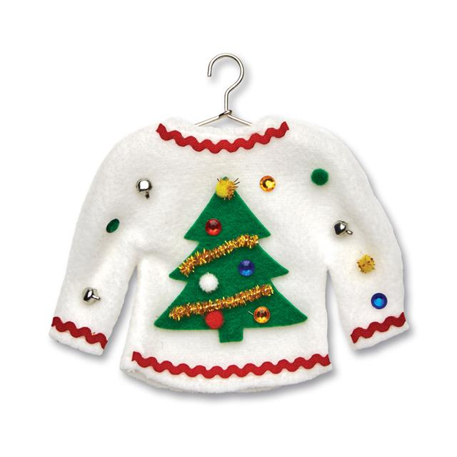 Creativity for Kids Sweater Ornaments