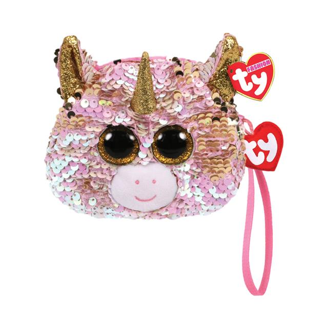 Ty Fashion Fantasia the Unicorn Sequin Wristlet