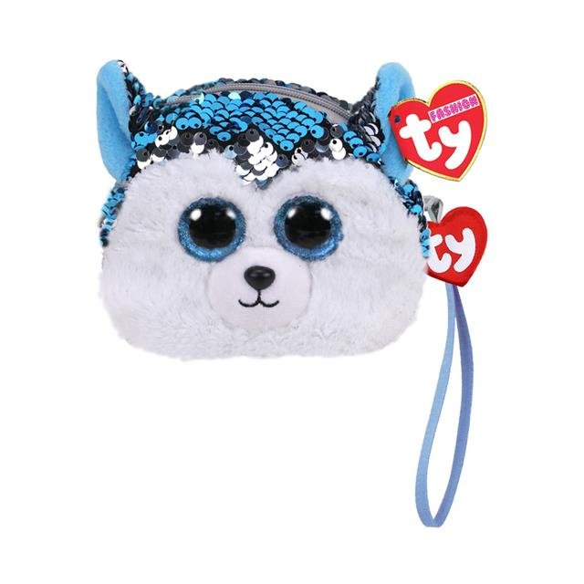 Ty Fashion Slush the Husky Sequin Wristlet