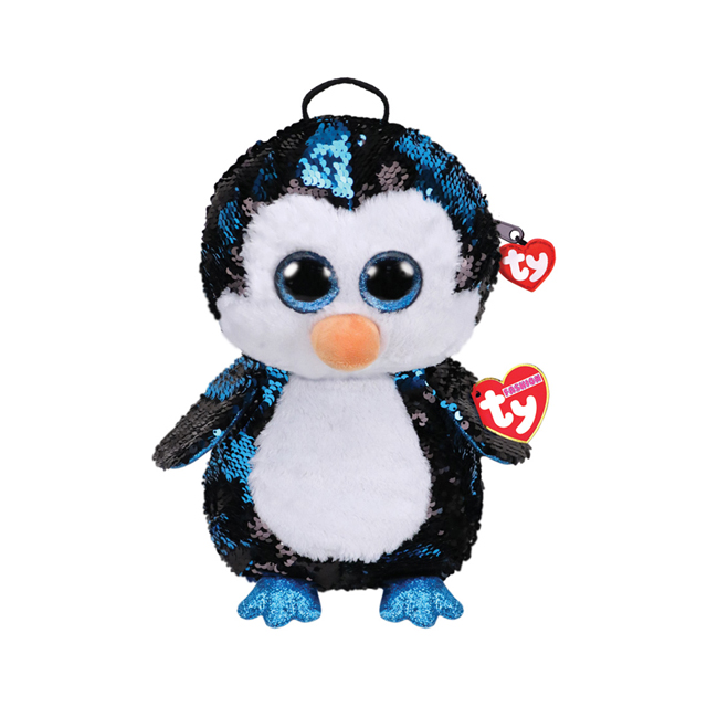Ty Fashion Waddles the Penguin Sequin Backpack